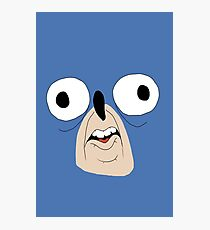 Sonic retarded face Photographic Print