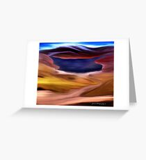 Lake In The Hills Greeting Card