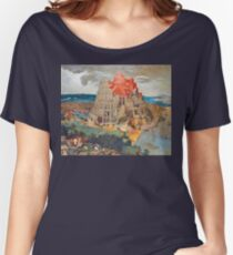 The Tower of Babel - Pieter Brueghel the Younger Women's Relaxed Fit T-Shirt