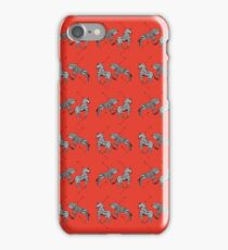 Pattern of The Royal Tenenbaums iPhone Case/Skin