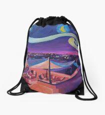 Starry Night in Marrakech Van Gogh Inspirations  Drawstring Bag