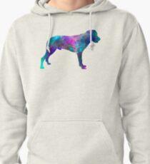 Majorca Shepherd Dog in watercolor Pullover Hoodie