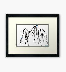 THAR Hills Framed Print