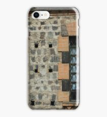 Windows With Steel Grates iPhone Case/Skin