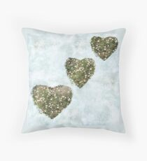 Cultivated Heart Throw Pillow