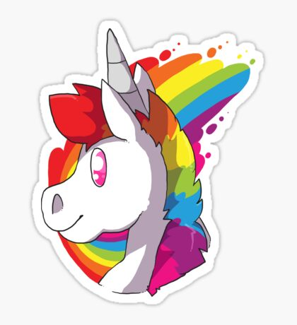 rainboww Sticker