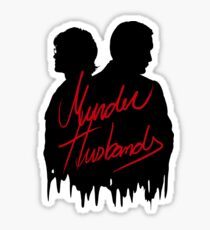 Murder Husbands [Black/Red] Sticker