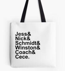 New Girl Name Design- Black Text Tote Bag