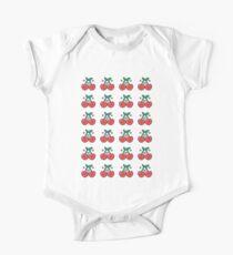 Cherry Pattern Kids Clothes