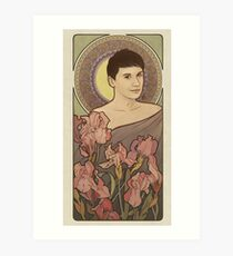 Dan Howell 'Blumen' Kunstdruck