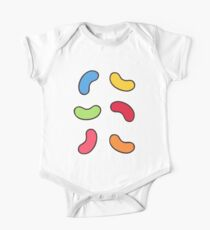 Jelly Beans Pattern One Piece - Short Sleeve