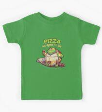 Teenage Mutant Ninja Turtles - Fat Michelangelo Kids Tee