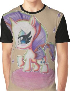 Rarity My Little Pony Graphic T-Shirt