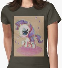 Rarity My Little Pony Women's Fitted T-Shirt