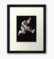 BASE JUMP.. Framed Print