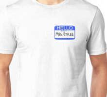Hello My Name is Mrs. Styles Unisex T-Shirt