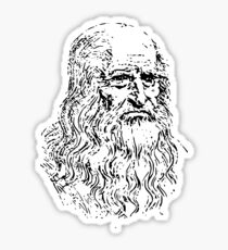 Leonardo da Vinci - Souvenir from Italy Sticker