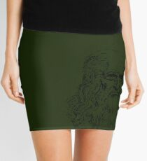 Leonardo da Vinci - Souvenir from Italy Mini Skirt