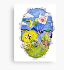 AdventureTime finn and jake Canvas Print
