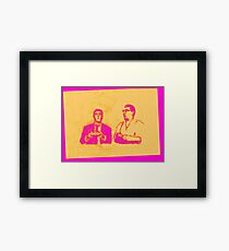 Ronnie & Reggie & their Xbox 360 Framed Print