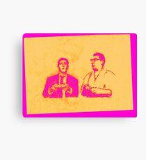 Ronnie & Reggie & their Xbox 360 Canvas Print
