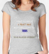 British mashup Women's Fitted Scoop T-Shirt