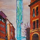Manchester Beetham Tower by borstal