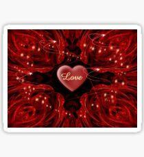 Love. Love, Love Sticker