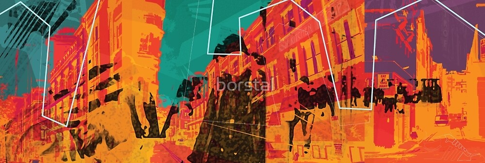 I live in the city by borstal