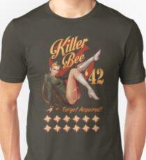 Killer Bee Pin Up Unisex T-Shirt