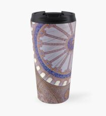 Blue mosque in Istanbul Travel Mug