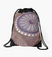 Blue mosque in Istanbul Drawstring Bag