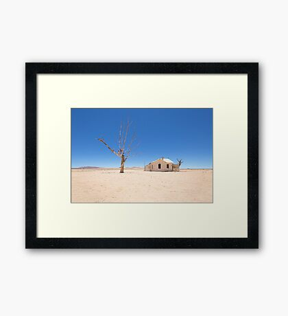 In the Middle of Nowhere Framed Print