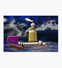 Pharos One of the Seven Wonders of the Ancient World Photographic Print
