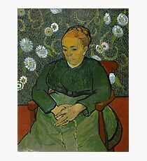 Vincent Van Gogh - La berceuse, Portrait of Madame Roulin, December 1888 - January 1889 Photographic Print