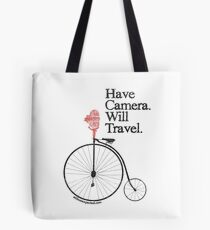 Have Camera Will Travel Alt Version T-shirts & Gifts Tote Bag