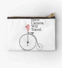 Have Camera Will Travel Alt Version T-shirts & Gifts Studio Pouch