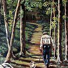 Walking With My Friend by Susan McKenzie Bergstrom