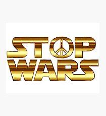 Star Wars Peace Hippie Photographic Print