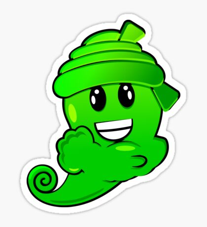 Green Djin VRS2 Sticker