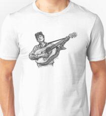 Bob Dylan (guitar) Unisex T-Shirt