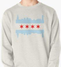 Chicago Flag Skyline Pullover