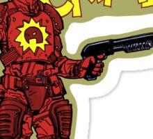 The Crimson Bolt Sticker