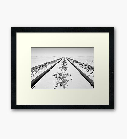 The Lines Framed Print