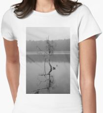 Tree in the Water Women's Fitted T-Shirt