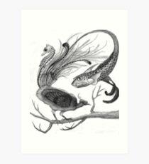 Hybird Art Print