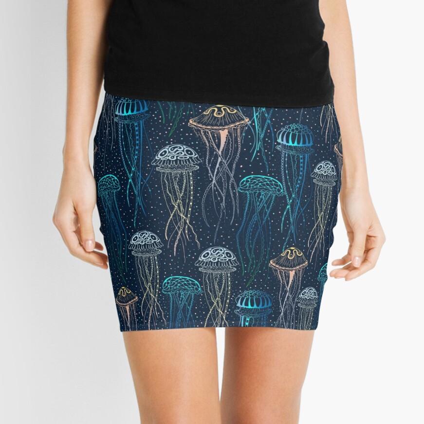 Jellyfish Mini Skirt