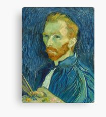 Vincent Van Gogh - Self-Portrait, 1889  Impressionism Canvas Print