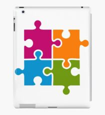 Hipster Puzzle Cool T-Shirts iPad Case/Skin