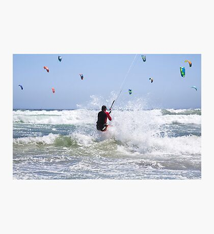 Riding Wind & Waves to Glory Photographic Print